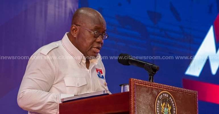 Consider my achievements and retain me – Akufo-Addo urges Ghanaians