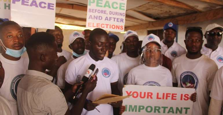 Election 2020: Let's maintain the peace in Bawku — Bissa Youth as they petition Bissa Chief