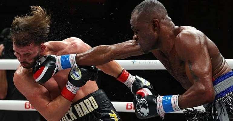 Emmanuel Tagoe Defeats American Mason Menard