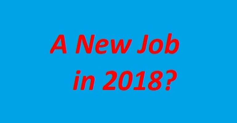 How-to get a Brand New Job in 2018!