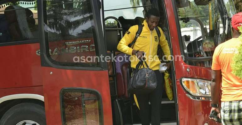 Asante Kotoko Arrive At Akyem Ofoase For Akyemansa Clash