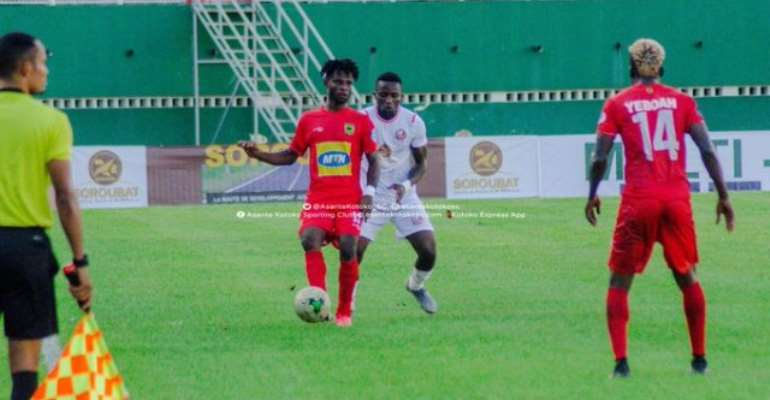 Watch How San Pedro Crashed Out Asante Kotoko From CAF Confederations Cup [HIGHLIGHTS]