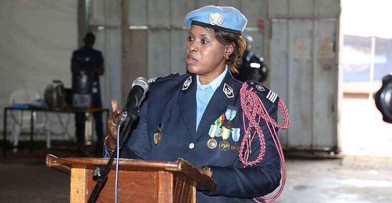 Senegalese Police Man Serving In DRC Awarded 2019 UN Female Police Officer Of The Year