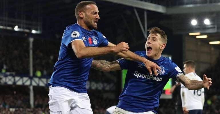 Gomes Suffers Horror Injury As Everton Deny Tottenham