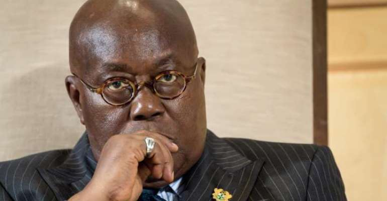 Do Not Look Where You Fell But Where You Slipped: Message To Critics Of Akufo-Addo's Gov't