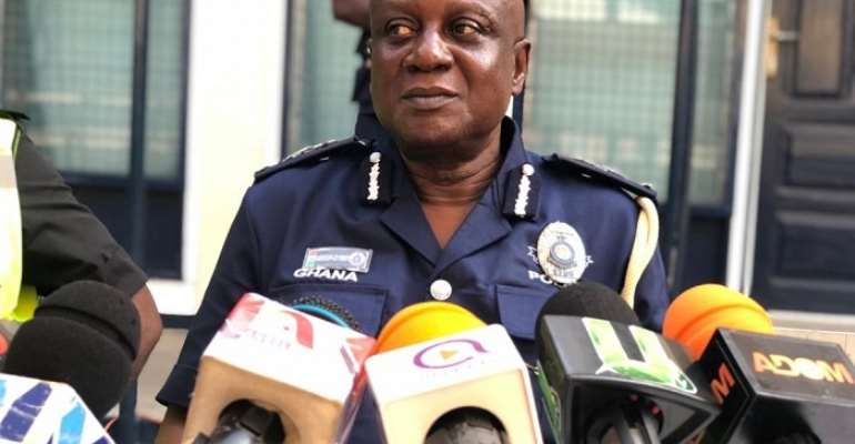 ACP Edward Johnson Akrofi Oyirifi – Tema Regional Police Commander.