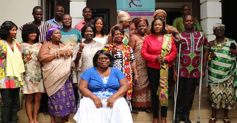 Henry Djaba Foundation Makes Strong Case For Women, PWDs