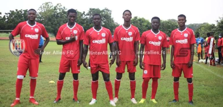 Ghana Premier League: Inter Allies Promote Six Players To First Team