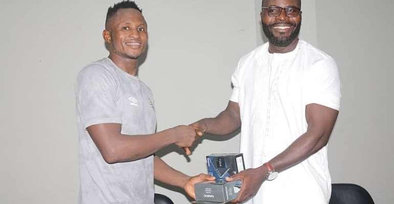 Joseph Esso Adjudged MoTM In Hearts Of Oak's 2-1 Win Against Ebusua Dwarfs