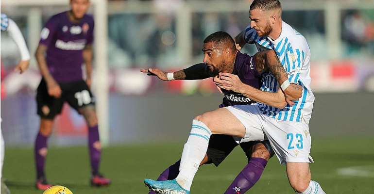 Kevin Prince Boateng Excels In Fiorentian Home Win Over Spal