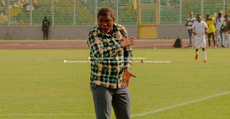 Maxwell Konadu Admits There Is Pressure On Kotoko Ahead Of Medeama Game