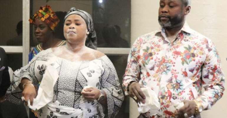 Newly Elected Asanteman Association Chief and Queen Mother- Nana Akua Sefah and Nana Attakora Amaniampong