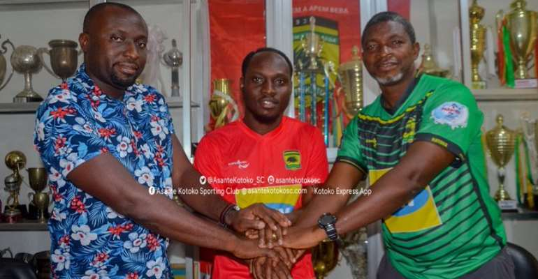 'Joining Kotoko Is A Dreams Come True' - William Opoku