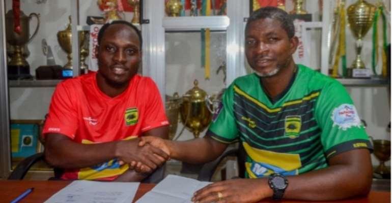 Kotoko Complete Loan Signing Of Striker William Opoku Mensah