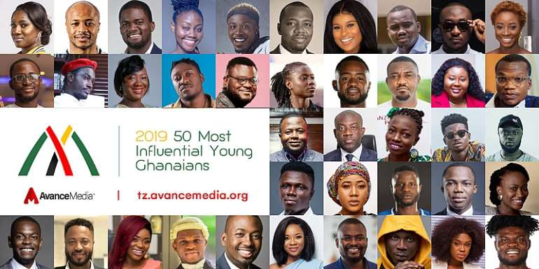 Finalists For 2019 50 Most Influential Young Ghanaians Announced