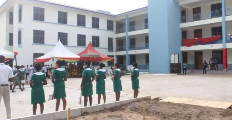 Bawumia Commissions 2 Storey Lecture Hall Facility At Bibiani College Of Health And Allied Sciences