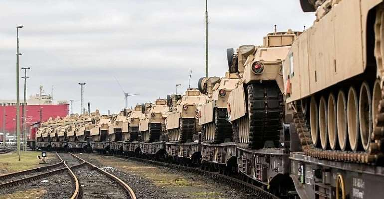 Gigantic US Military Exercise Planned In Europe With Hundreds Of US Tanks Rolling Through Germany