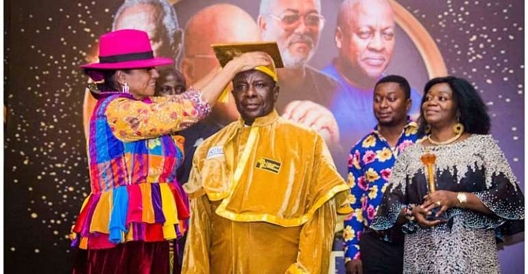 [Photos] CEO Of K. Gyasi Company Honoured By Pan-African Heroes Foundation