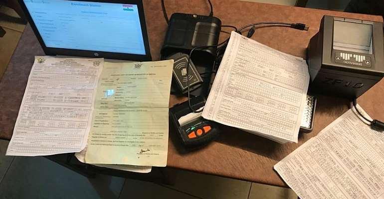 Sacrificing Good Sleep For Ghana Card Registration; Patriotism Or Enthusiasm?