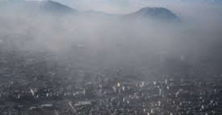 Air pollution killed nearly 5,000 people in Afghanistan in 2020