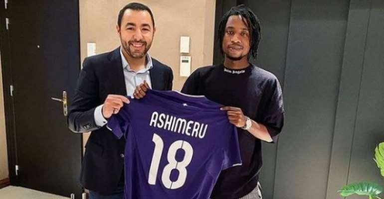 Ghana midfielder Majeed Ashimeru excited after sealing RSC Anderlecht move