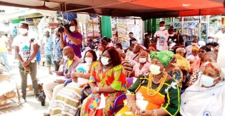 80% of people in Mokola don't wear nose mask – Market Queen