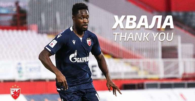 OFFICIAL: Ghana striker Richmond Boakye Yiadom part ways with Red Star Belgrade