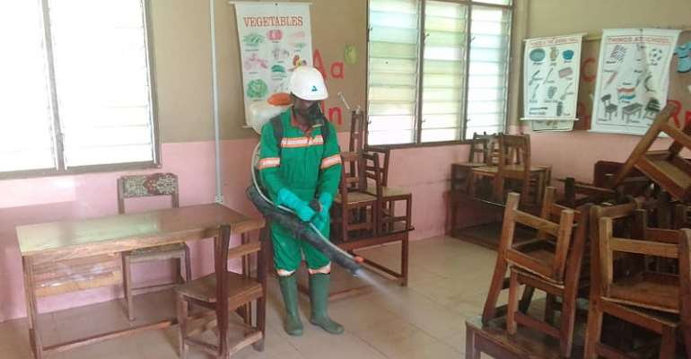 Schools in Eastern region undergo fumigation and disinfection