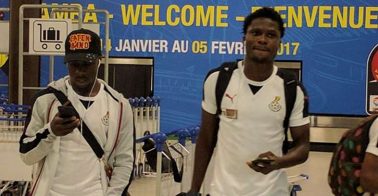 Ghana land in Gabon for 2017 Africa Cup of Nations