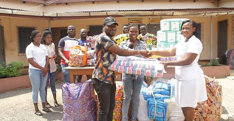October To Remember Group Donates To Accra Psychiatric Hospital
