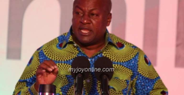 John Mahama is the NDC's candidate for the 2020 presidential election.