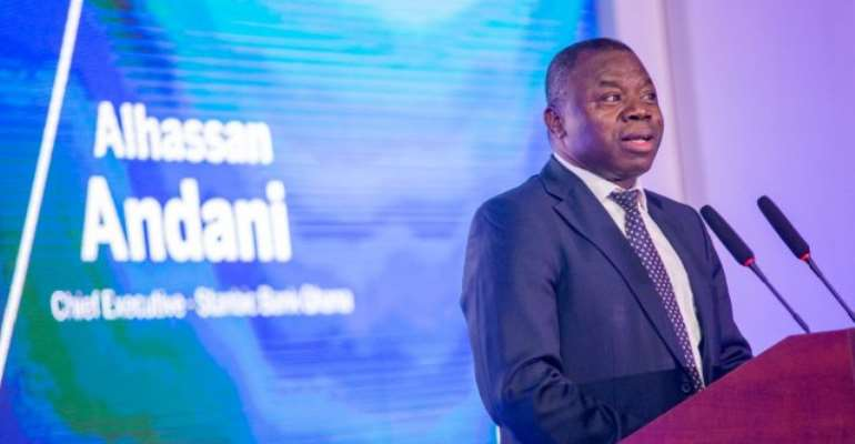 Managing Director of Stanbic Bank, Alhassan Andani