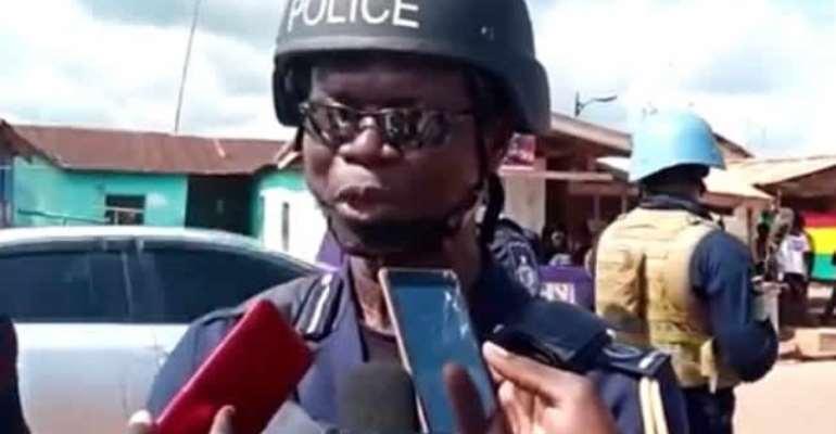 Central regional police commander, COP Paul Manley Awini