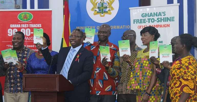 AIDS Commission Launches New HIV Policy