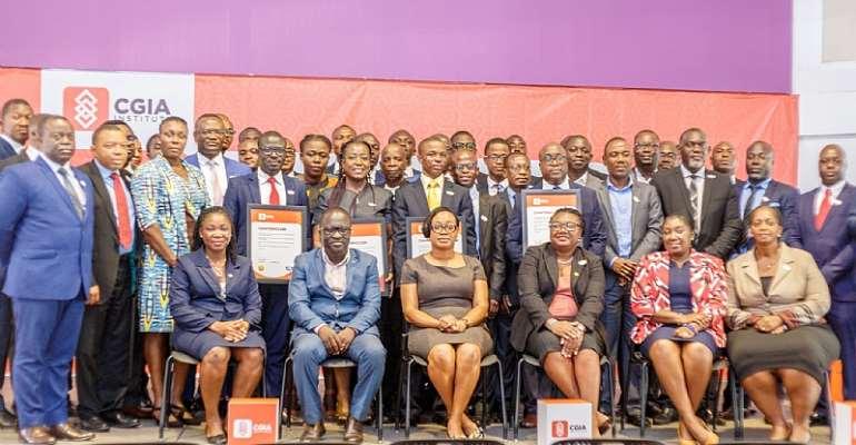 CGIA Institute Honours 52 Charterholders In Ghana