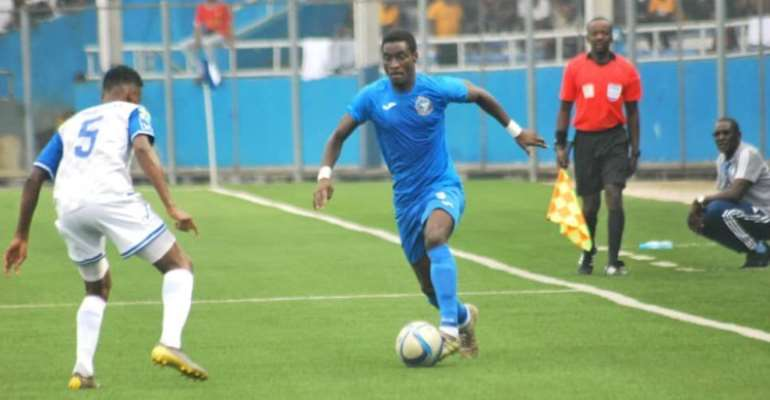 CAF Confed Cup: Daniel Darkwah On Target As Enyimba FC Advance To Group Stage