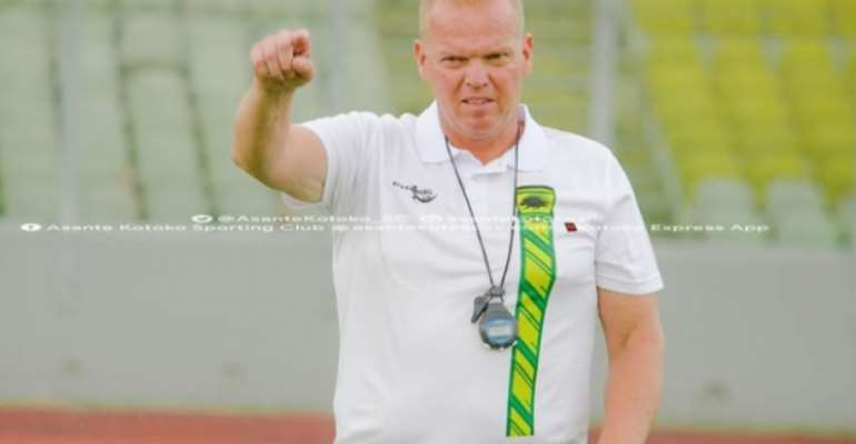 'I Am Sorry'. Says Kjetil Zachariassen After CAF Confed. Cup Failure