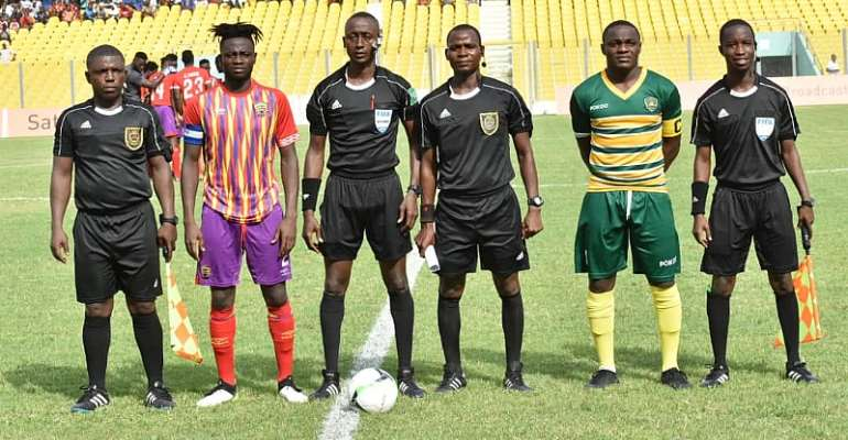 GHPL: Matchday Four Officials Named