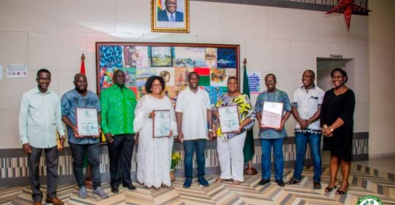 4 Companies Honoured For Beautifying Accra