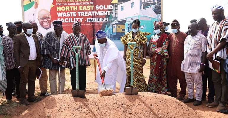Solid Waste Treatment FacilityTo Be Built In North-East Region
