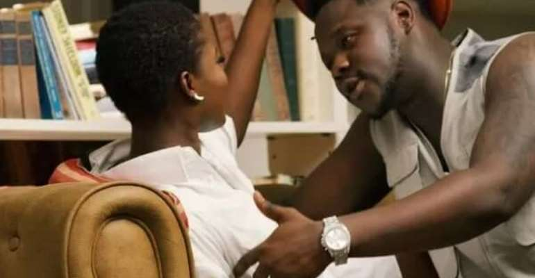 """""""I want us to start a family together"""" Medikal pleads with Fella Makafui"""