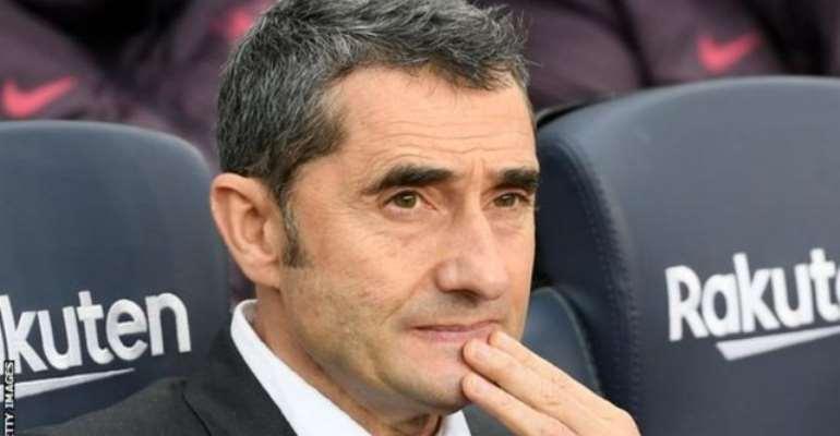 Barcelona Sack Ernesto Valverde And appoint Quique Setien