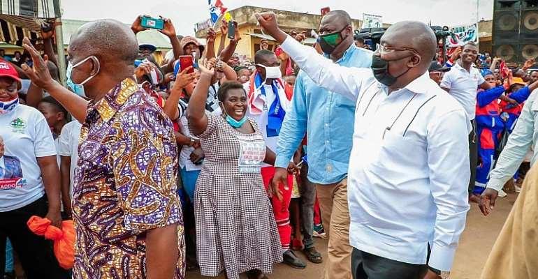 Bawumia Tours Oti Region Today