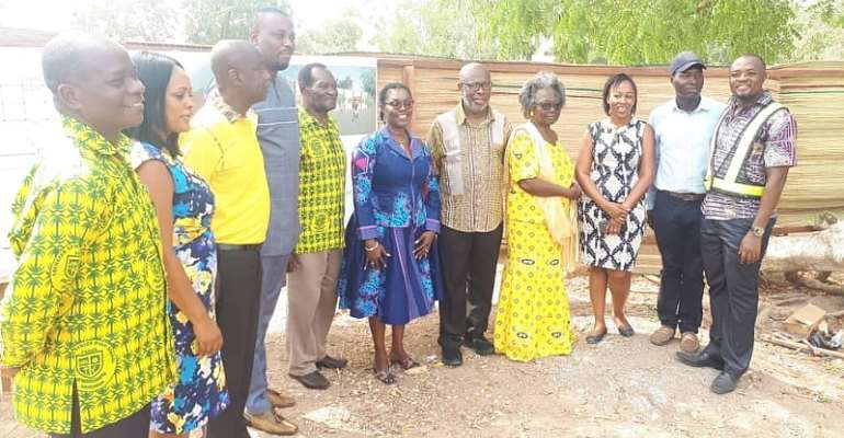 MTN Foundation Builds E-learning Facility At Ebenezer SHS In Dansoman