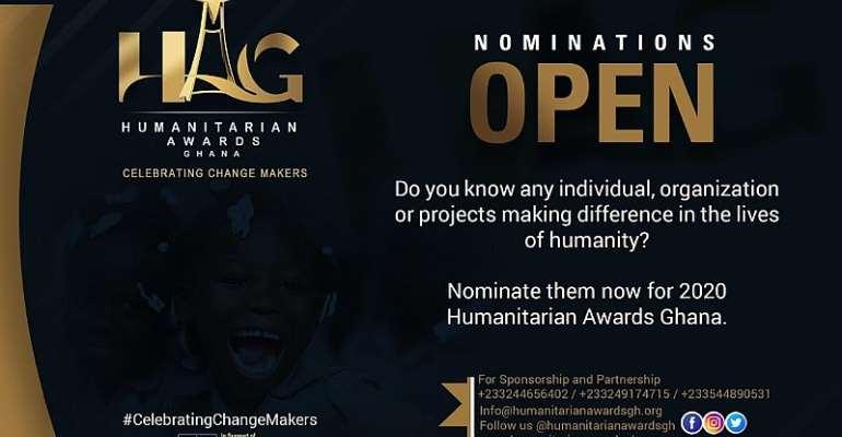 Humanitarian Awards Ghana Opens Nominations