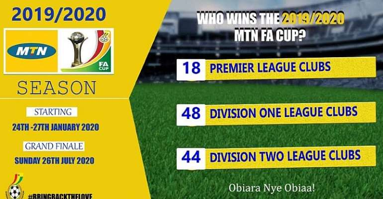 2019/2020 MTN FA Cup Round Of 64 Draw Held With Exciting Pairings