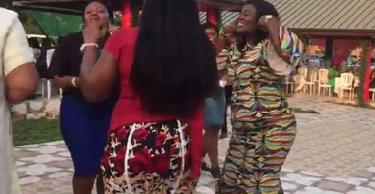 [Watch] Former CID Boss, Maame Tiwaa Dances To Daddy Lumba's 'Aben Woha'
