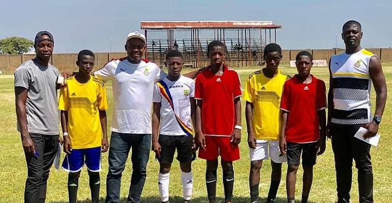 Medeama SC Boss Samuel Boadu Retains Role As Ghana U-15 Head Coach