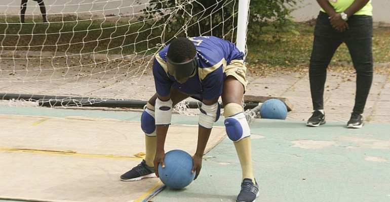 UEW And UCC Share Honors In Goalball At Legon 2020