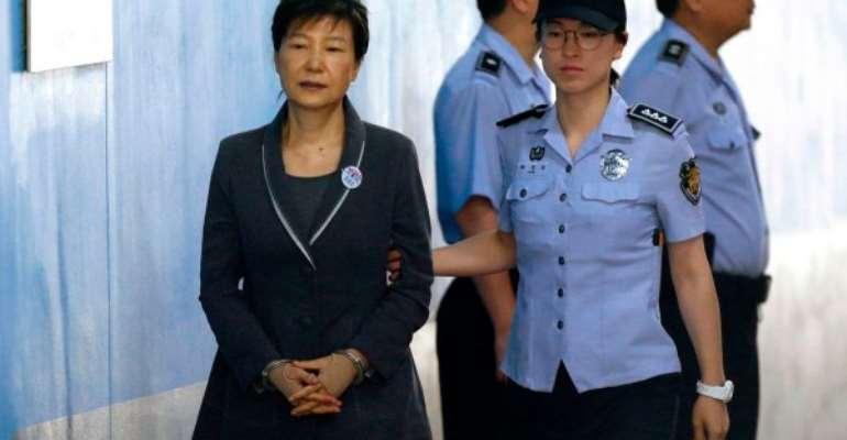Court upholds South Korean former President Park's 20-year jail sentence